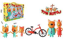 """Большой набор """"Три кота с велосипедом"""" PS651"""