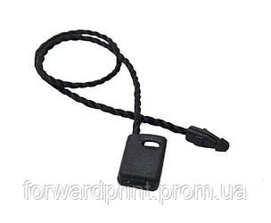 З'єднувач бірок мотузковий чорний 1000 шт