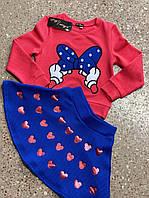 "Детский костюм ""Микки бантик"" 110-128 см, фото 1"