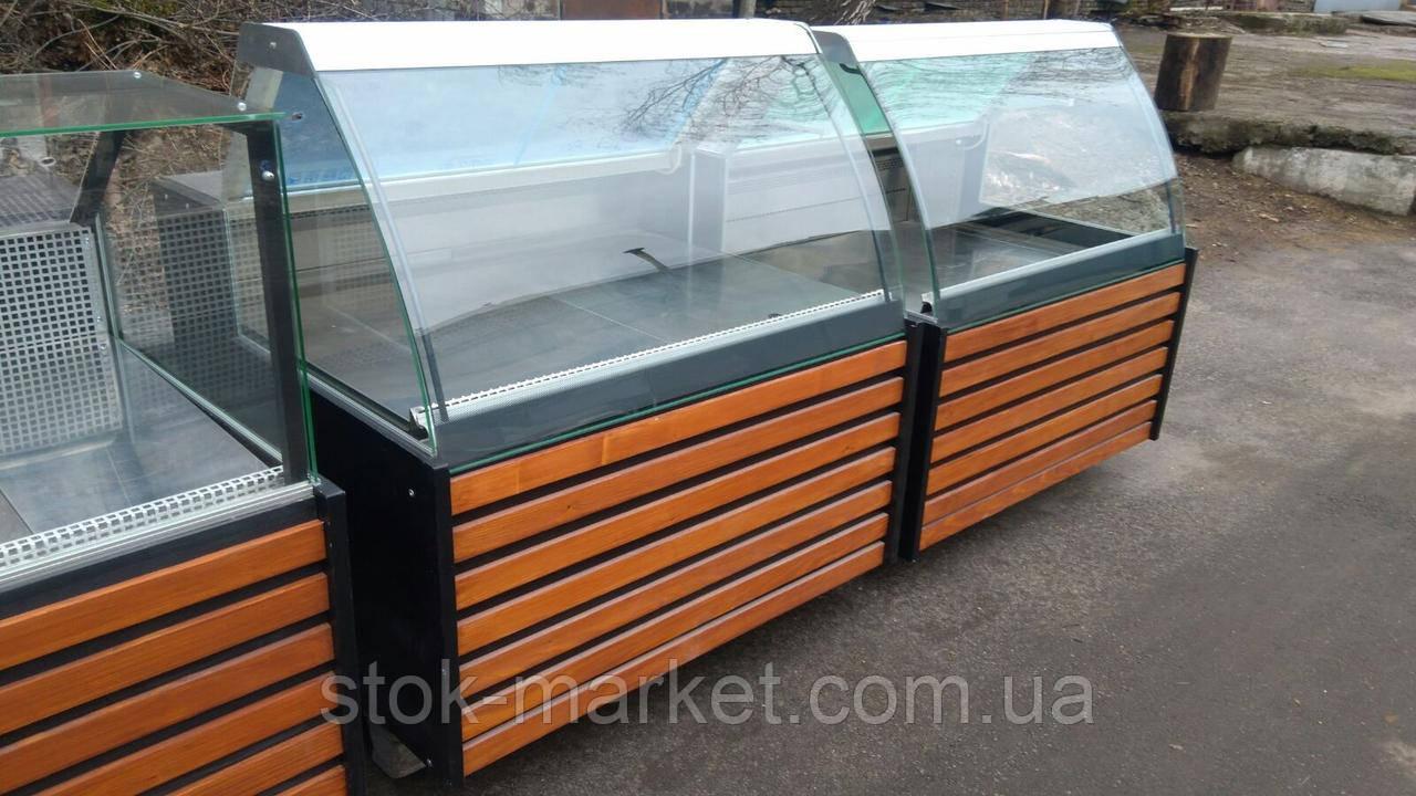 Витрины холодильные и кондитерские 1,3 м. бу. витрна гастрономическая бу.