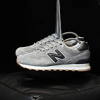 Мужские кроссовки New Balance 574 Silver \ Нью Беленс 574 \ Чоловічі кросівки Нью Беленс 574
