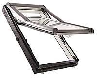 Мансардні вікна ПВХ Roto Designo WDF R75 K WD AL Мансардные окна