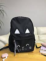 Рюкзак портфель женский черный (есть другие цвета), фото 1