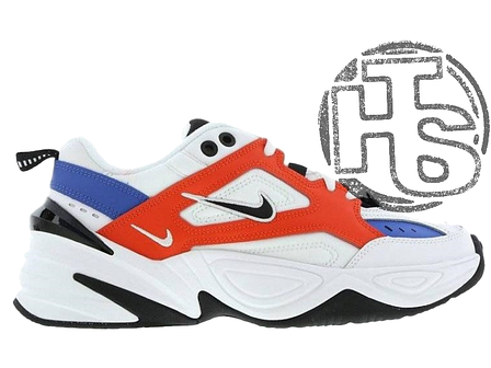 Мужские кроссовки Nike M2K Tekno Summit White/Black/Team Orange AO3108-101, фото 2