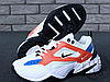 Мужские кроссовки Nike M2K Tekno Summit White/Black/Team Orange AO3108-101, фото 5