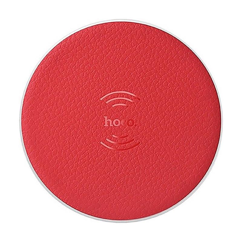 Беспроводное зарядное устройство Hoco CW14 wireless charger 1A Red (VN-0110)