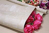 Упаковочная крафт бумага для цветов и подарков с рисунком 70см*10м Печати