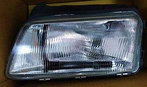 Левая фара Ауди A4 (B5) 95-99 h4 механическая/электрическая регулировка (тип valeo) / AUDI A4 B5 (1995-2001)