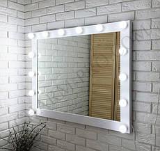 """Макияжное зеркало с подсветкой """"Вуди"""" 100х80 см."""