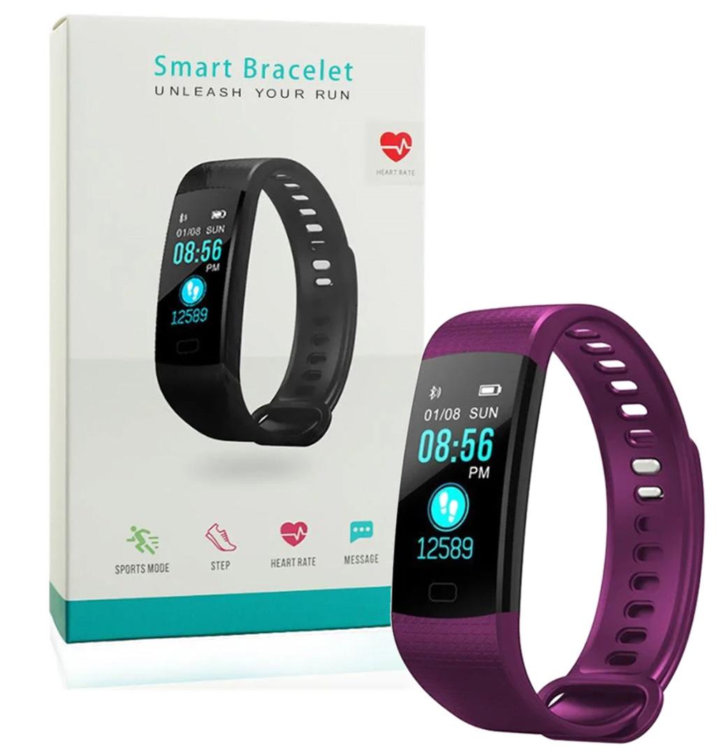 Фитнес браслет Smart Goral Y5 Фиолетовый