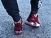 Кроссовки женские подростковые бордовые Nike Air Max 270 реплика, фото 2