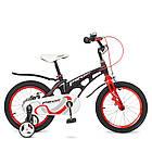 Велосипед детский двухколесный PROFI LMG16201 Infinity 16 дюймов черно-красный матовый, фото 2