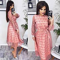 Шикарное нарядное платье арт 006