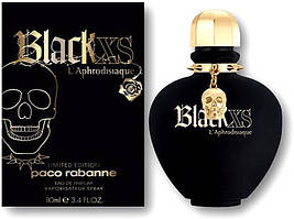 Женская парфюмированная вода Paco Rabanne Black XS L'Aphrodisiaque for Women 80 мл
