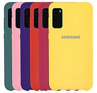 Чехол-накладка Original Silicone case на Samsung Galaxy S20 SM-G980F #2, фото 1