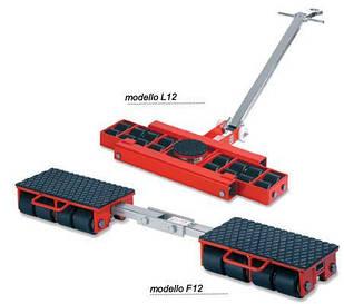 Подкатниє роликові візки F12 і L12 GKS-Perfekt