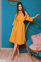 Женственное элегантное шикарное платье с оголенным одним плечом арт 759