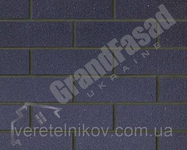 Гибкий кирпич клинкер гладкий «ELASTOCLIN» (Эластоклин) цвет №32 затирка графит