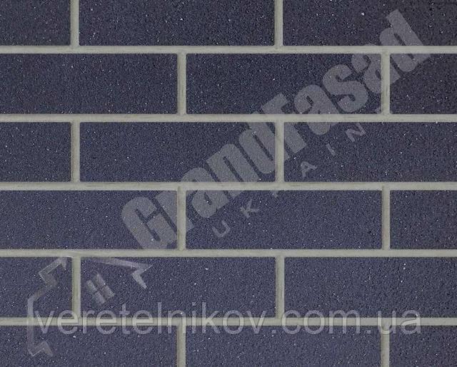 Гибкий кирпич клинкер гладкий «ELASTOCLIN» (Эластоклин) цвет №31 серая затирка