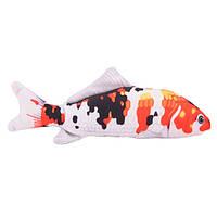 Рыба кои, 3D игрушка для кошек, 80 см