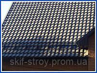 Металлочерепица Максима 0,45мм Marcegaglia Италия, ZN225, матовый полиэстер. Гарантия 20 лет, фото 5