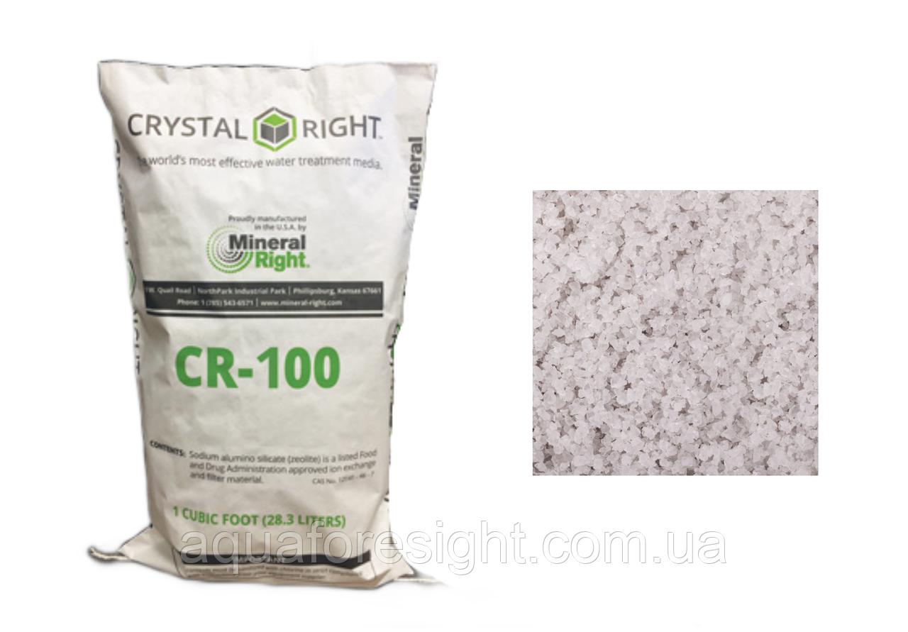 Сrystal Right CR100 (28,3л) эффективно очищает воду от кальция, магния, железа, марганца и аммония (28,3 л )