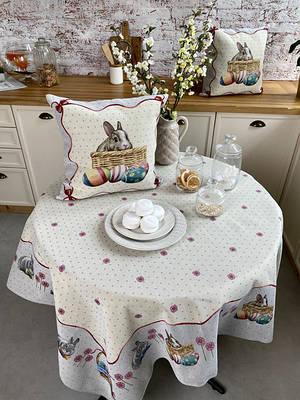 Пасхальный текстиль: скатерти, салфетки, наволки