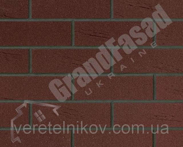 Гибкий кирпич клинкер гладкий «ELASTOCLIN» (Эластоклин) цвет №34 затирка графит