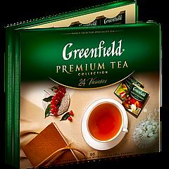Чай пакетированный Greenfield  Ассорти 96шт (24*4 шт)