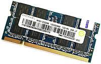 Оперативная память для ноутбука Ramaxel SODIMM DDR2 2Gb 800MHz 6400s 2R8 CL6 (RMN1740HC48D8F-800) Б/У, фото 1