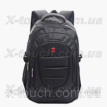Чоловічий рюкзак, що не промокає Red Wanda 6185, чорний.