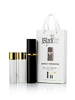 Подарочный набор  Paco Rabanne Black XS Homme 3 по 15 мл