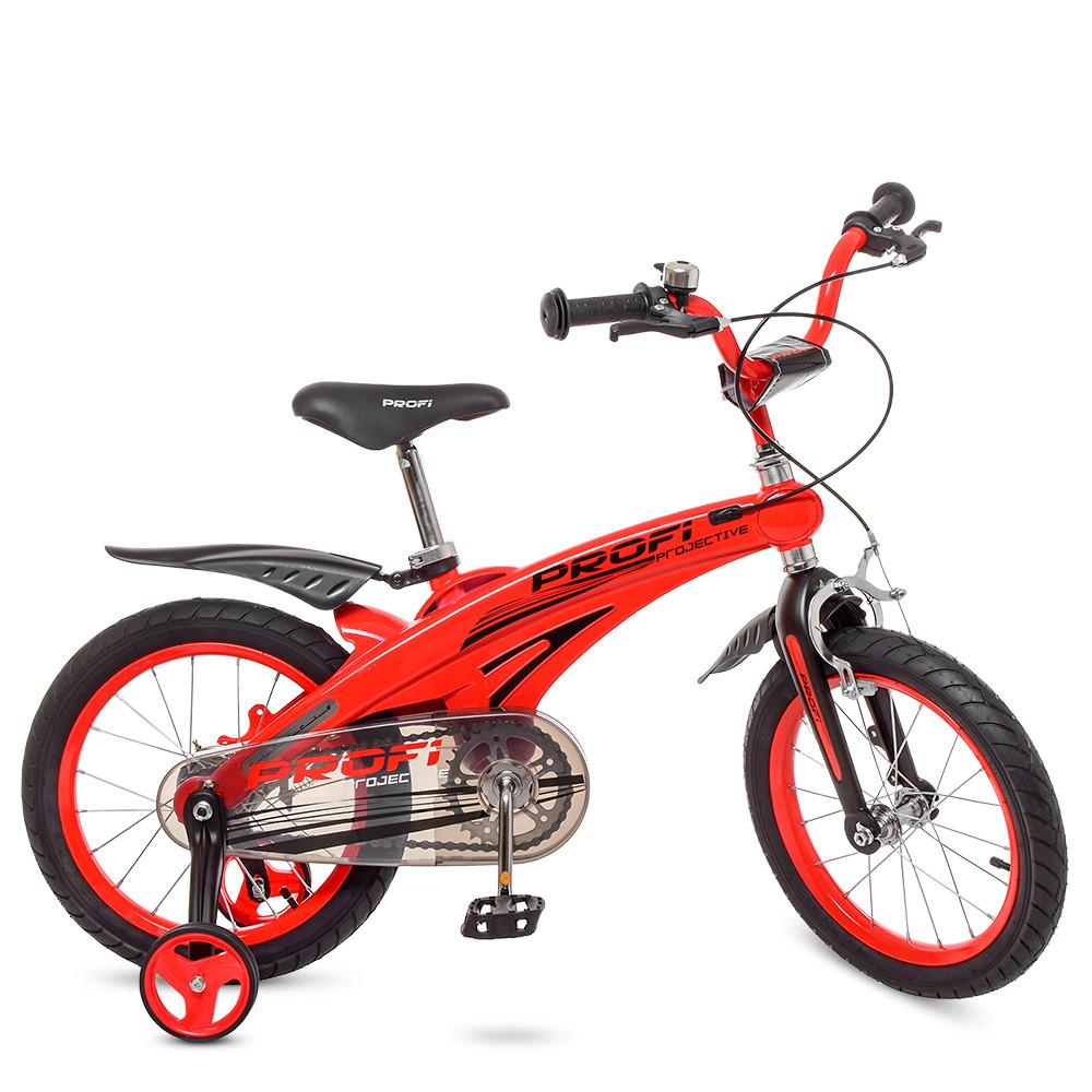 Велосипед детский двухколесный PROFI LMG16123 Projective 16 дюймов красный