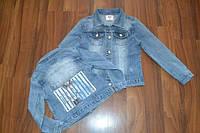 Джинсовые пиджачки для девочек. Размеры 6-лет.Фирма S&D.Венгрия