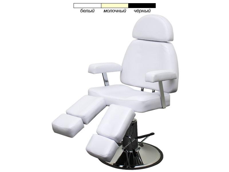 Педикюрное кресло с гидравлической регулировкой высоты