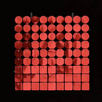 Планшеты с пайетками 30 мм, SolaAir, цвет 02 / Красный, 1 шт