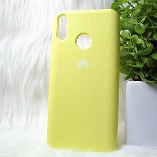 Чехол Huawei Y9 2019 желтый