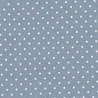 3984/5269 Murano Lugana Petit Point 32 (ширина 140см) античный синий в белый горошек 25*35 см