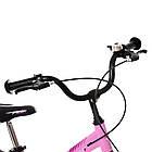 Велосипед детский двухколесный PROFI Hunter LMG14232 14 дюймов розовый, фото 3