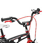 Велосипед детский двухколесный PROFI Infinity LMG14201 14 дюймов черно-красный, фото 2