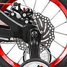 Велосипед детский двухколесный PROFI Infinity LMG14201 14 дюймов черно-красный, фото 4