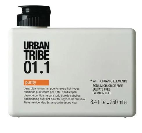 Очищающий Шампунь Urban Tribe 01.1 Shampoo Purity 250 мл
