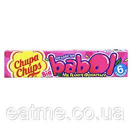 Chupa Chups Babol Жевательная резинка со вкусом тути фрути
