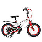 Велосипед детский двухколесный PROFI Infinity LMG14202 14 дюймов бело-красный, фото 2