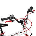 Велосипед детский двухколесный PROFI Infinity LMG14202 14 дюймов бело-красный, фото 3