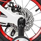 Велосипед детский двухколесный PROFI Infinity LMG14202 14 дюймов бело-красный, фото 4