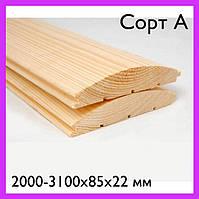 Блок-хаус смерековий (2000-3100х85х22мм) Блок-хаус еловый Iсорт. Блок хаус сайдинг. Блок-хауз. Оптом.