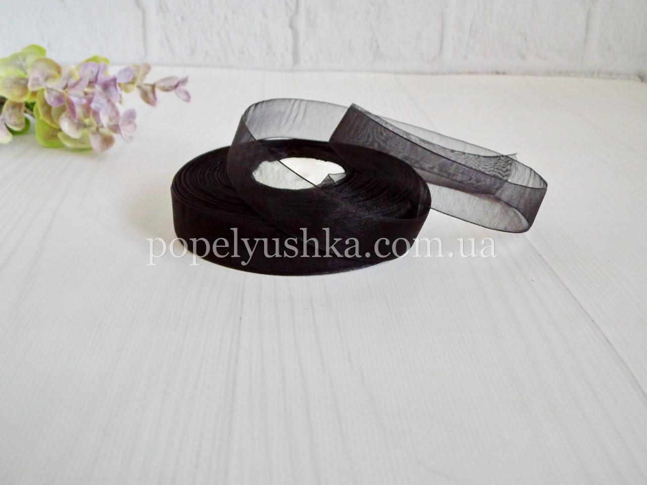 Органза 2 см чорна