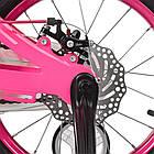 Велосипед детский двухколесный PROFI Infinity LMG14203 14 дюймов малиново-розовый, фото 3