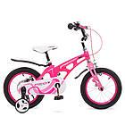 Велосипед детский двухколесный PROFI Infinity LMG14203 14 дюймов малиново-розовый, фото 4